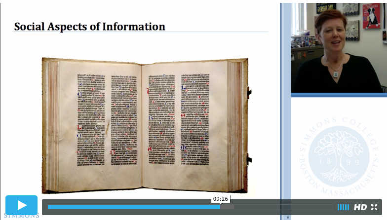 Screenshot of Online Lecture
